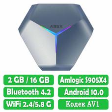 Android Смарт Приставка A95X F4 S905X4 2G/16G