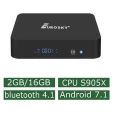 Android Смарт Приставка Eurosky X Pro S905X 2G/16G