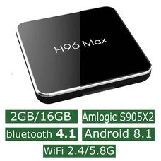 Android Смарт Приставка H96 Max S905X2 2G/16G
