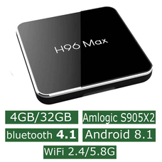 Android Смарт Приставка H96 Max S905X2 4G/32G