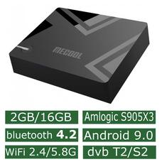 Android Смарт Приставка Mecool K5 DVB-T2/S2 2G/16G