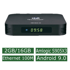 Android Смарт Приставка Technosat X98 Max X3 2G/16G