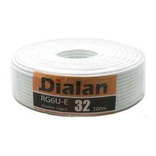 Коаксиальный кабель Dialan RG6U 32% (100м.)