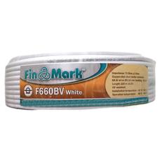 Коаксиальный кабель FinMark F660BV Белый (100м)