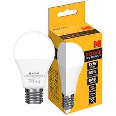 Светодиодная лампа KODAK A60 E27 12W 3000K
