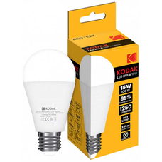 Светодиодная лампа KODAK A60 E27 15W 4100K
