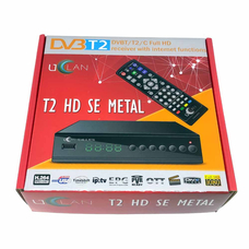 Ресивер Т2 Uclan T2 HD SE Metal
